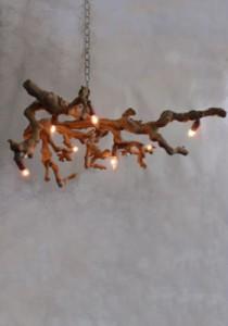 Driftood Chandelier - Avize-Duvar Lambası
