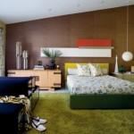Metropolitan Home - Yeşil Yatak Odası