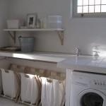 Beyaz Çamaşır Odası
