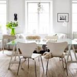 Instyle Home - Beyaz Yemek Odası