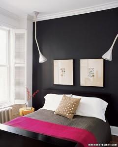 Martha Stewart - Siyah Beyaz Yatak Odası
