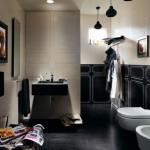 Fap Ceramiche - Siyah Krem Banyo