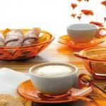 Guzzini - Bolli Turuncu Yemek Takımı