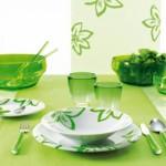 Guzzini - Gemme Yeşil Yemek Takımı