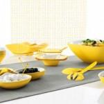 Guzzini - Vintage Sarı Yemek Takımı