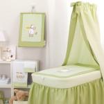 Cambrass - Yeşil Beyaz Bebek Odası