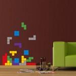 Duvar Dizayn - Tetris Stickerı