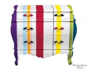 Metropolitan Home - Renkli Şifonyer