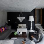 İsviçre - Yeraltı Evi - Salon