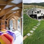 İsviçre - Yeraltı Evi - Tavan Görünümü