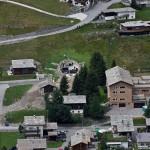 İsviçre - Yeraltı Evi - Dış Görünümü