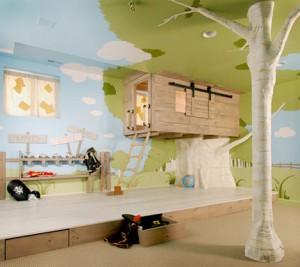 Doğal Çocuk Odası Tasarımı