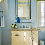 Mavi Duvarlı Banyo