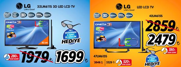 Teknosa- LG Televizyon Kampanyası